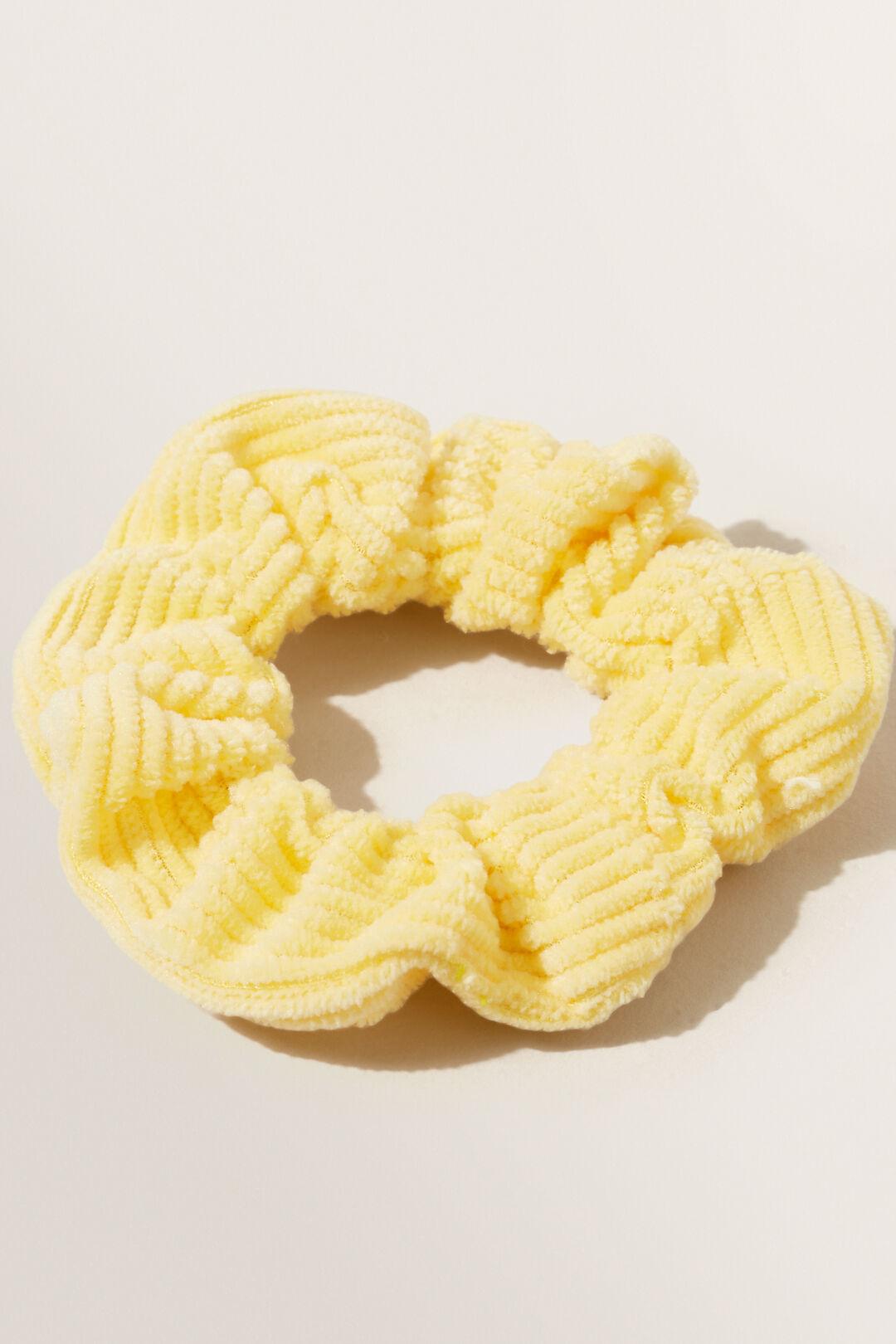 Corduroy Scrunchie  Buttercup  hi-res