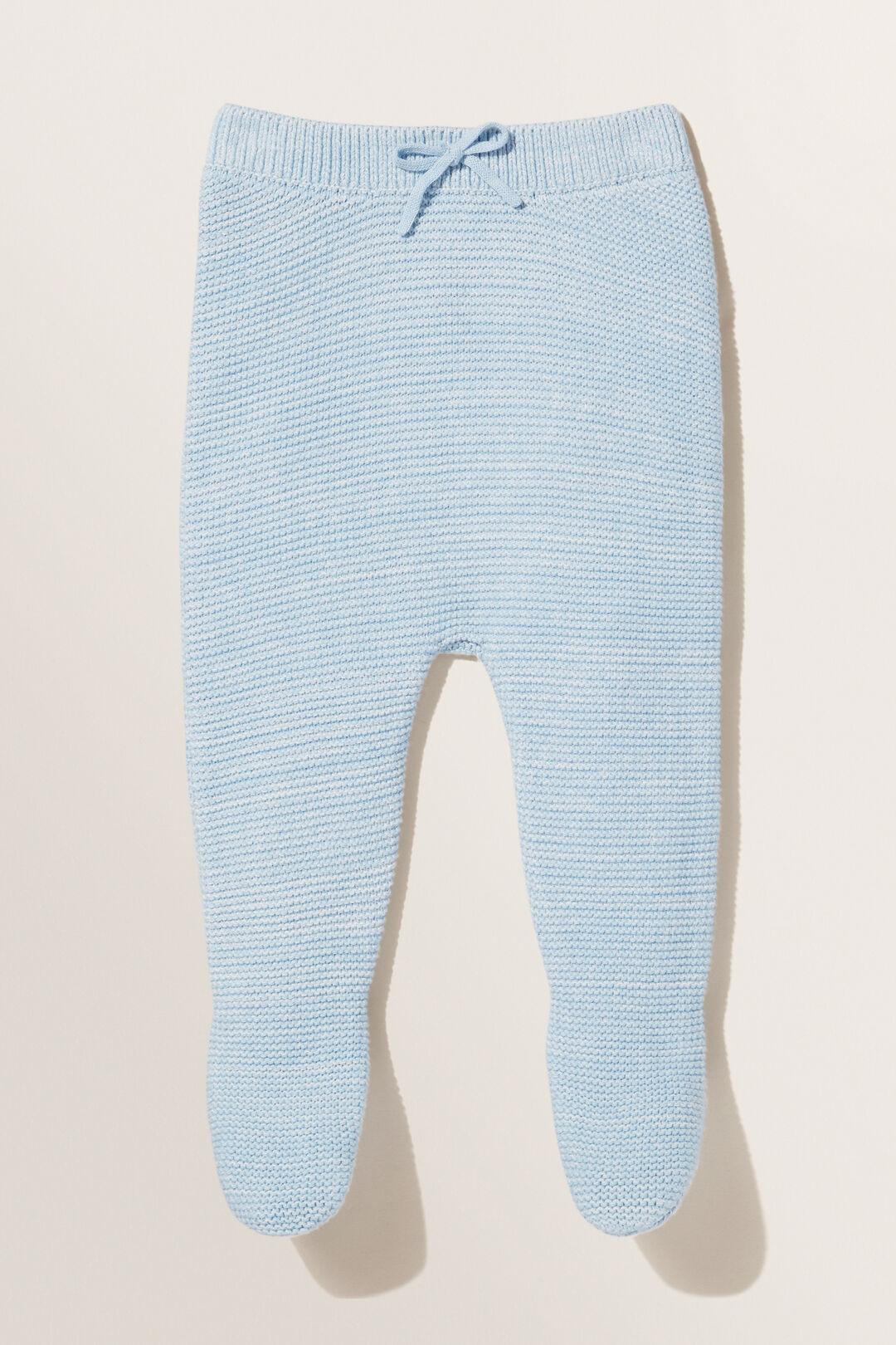 Footed Leggings  Powder Blue  hi-res