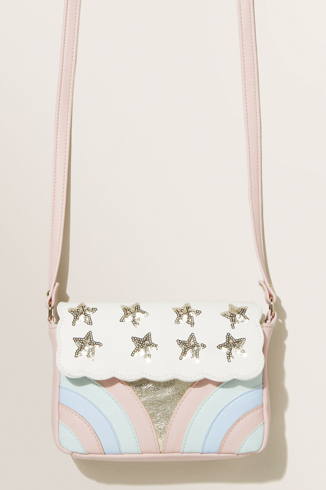 Rainbow Sling Bag  Multi  hi-res