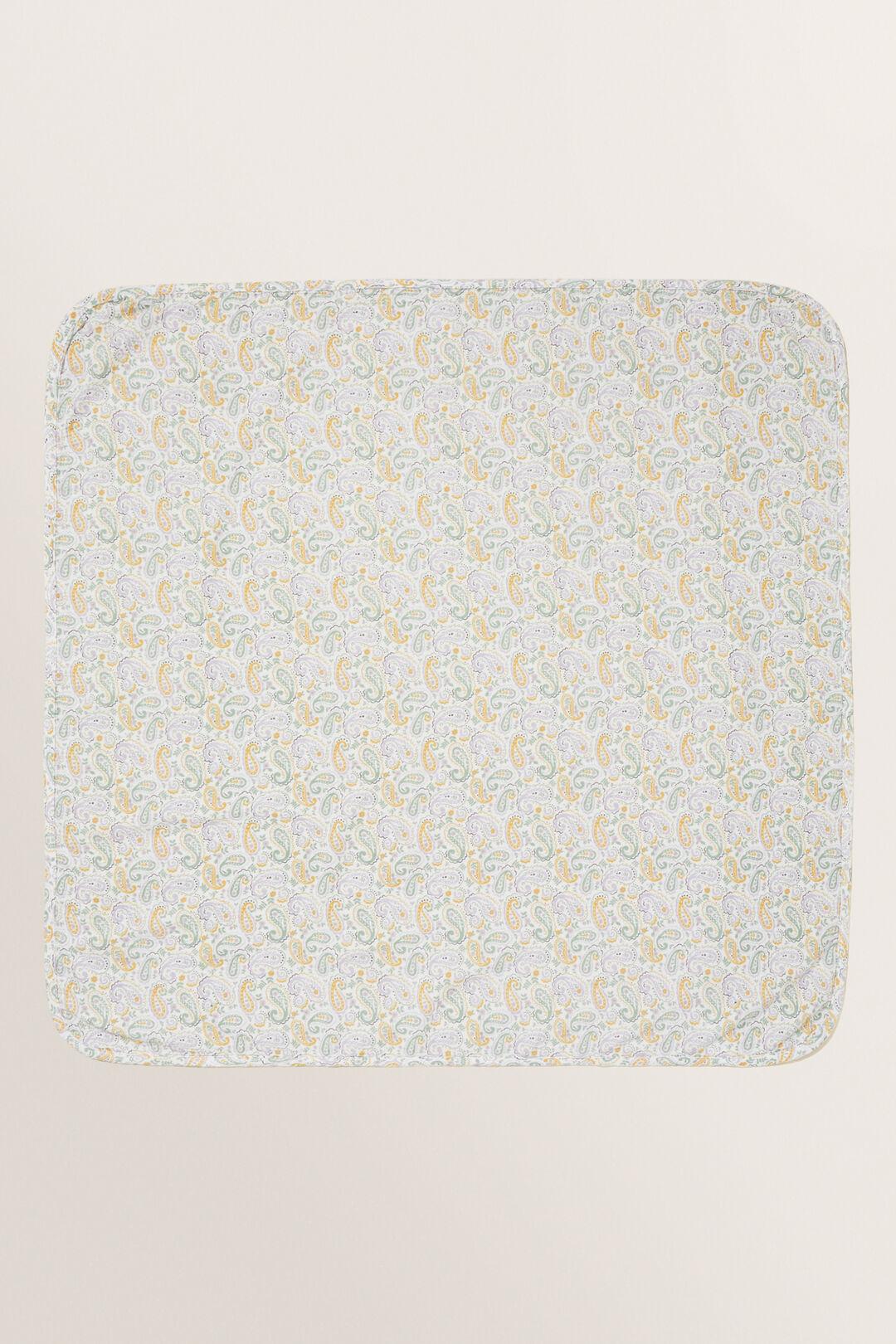 Paisley Muslin Wrap  Canvas  hi-res