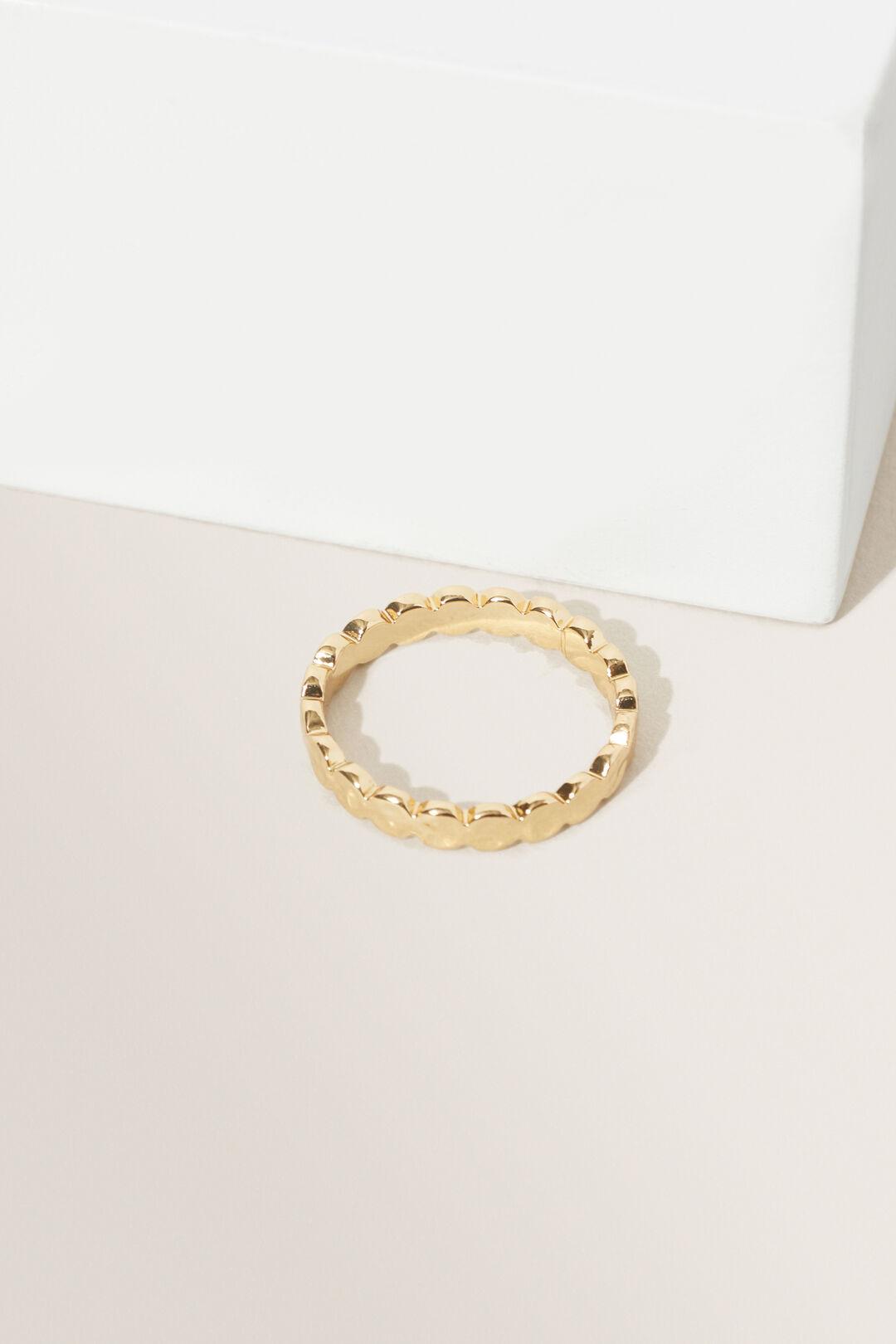 Fine Dot Ring  Gold  hi-res