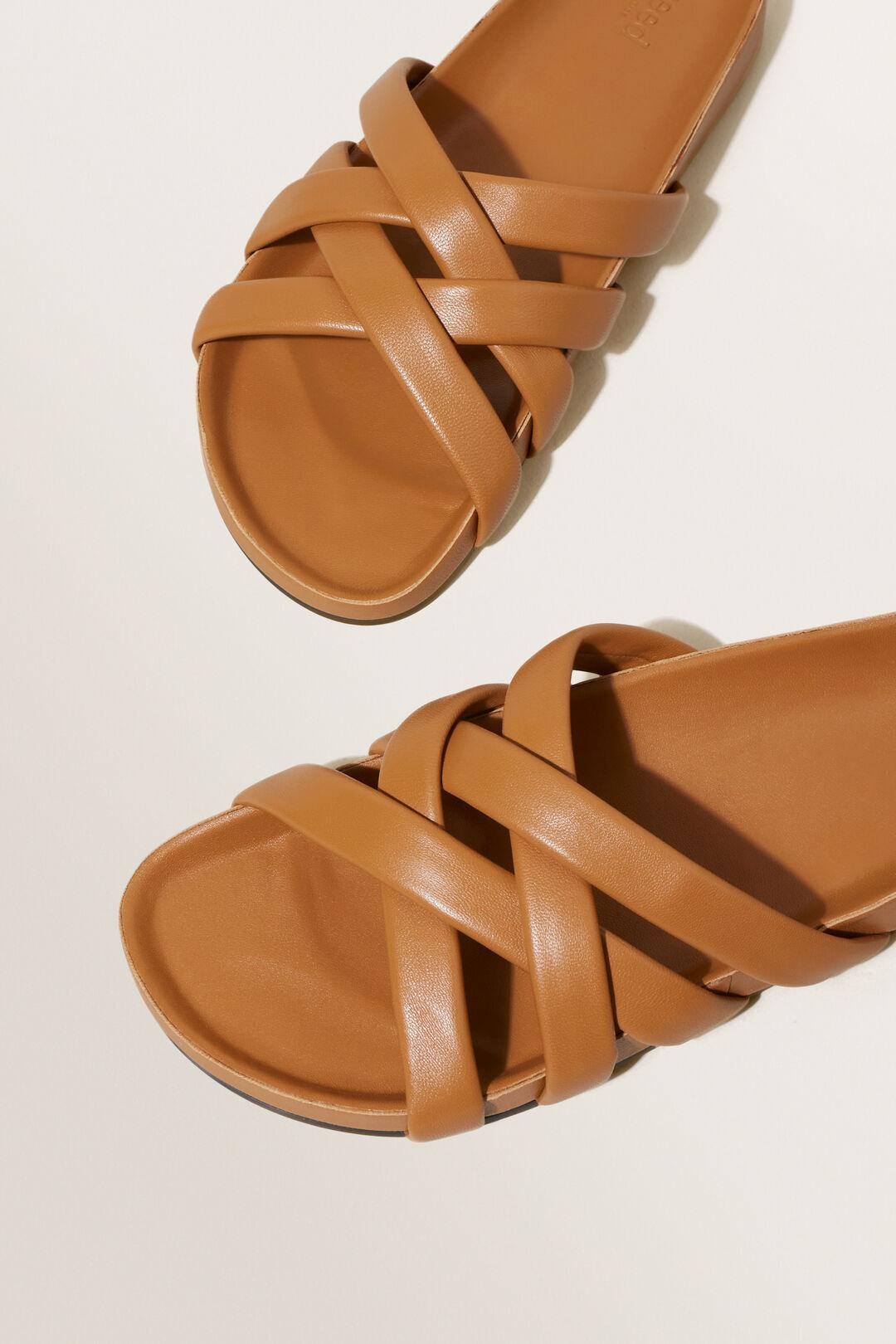 Harper Footbed Sandal  Tan  hi-res