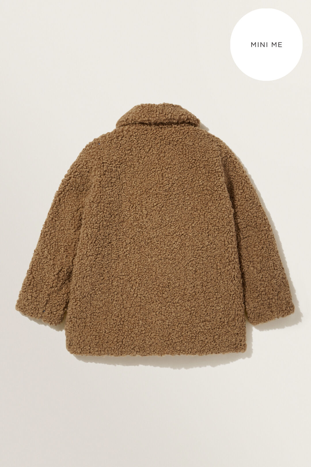 Mini Me Teddy Coat  Honey Dew  hi-res