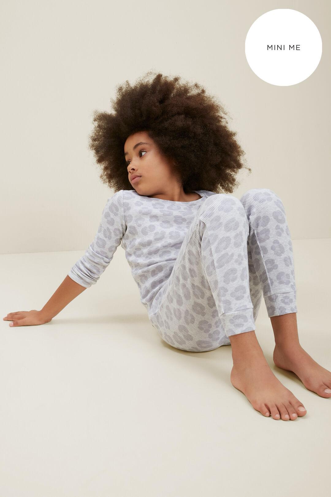 Mini Me Ocelot Pyjamas  Light Grey Marle  hi-res