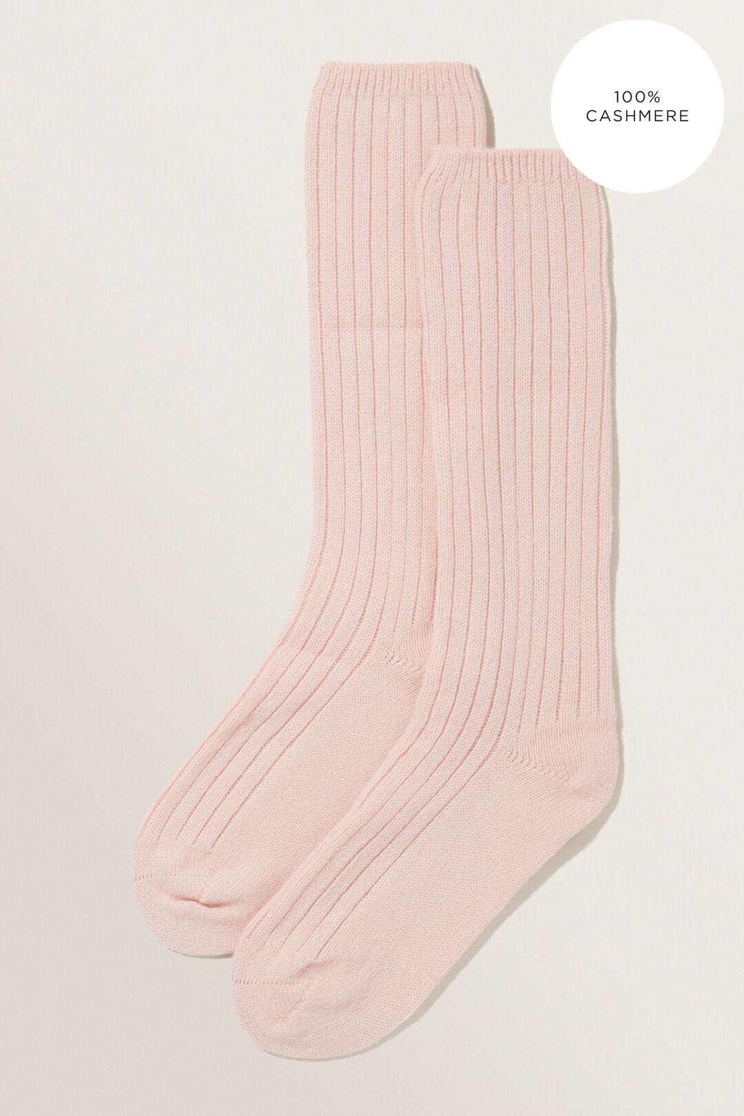 Cashmere Lounge Socks  Ash Pink  hi-res
