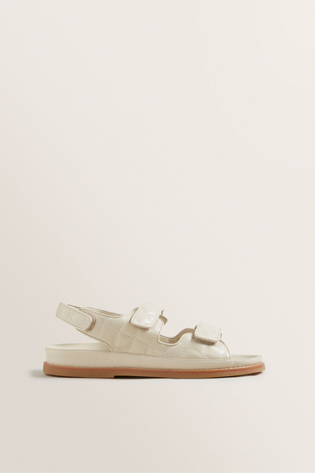 Quilted Footbed  French Beige  hi-res