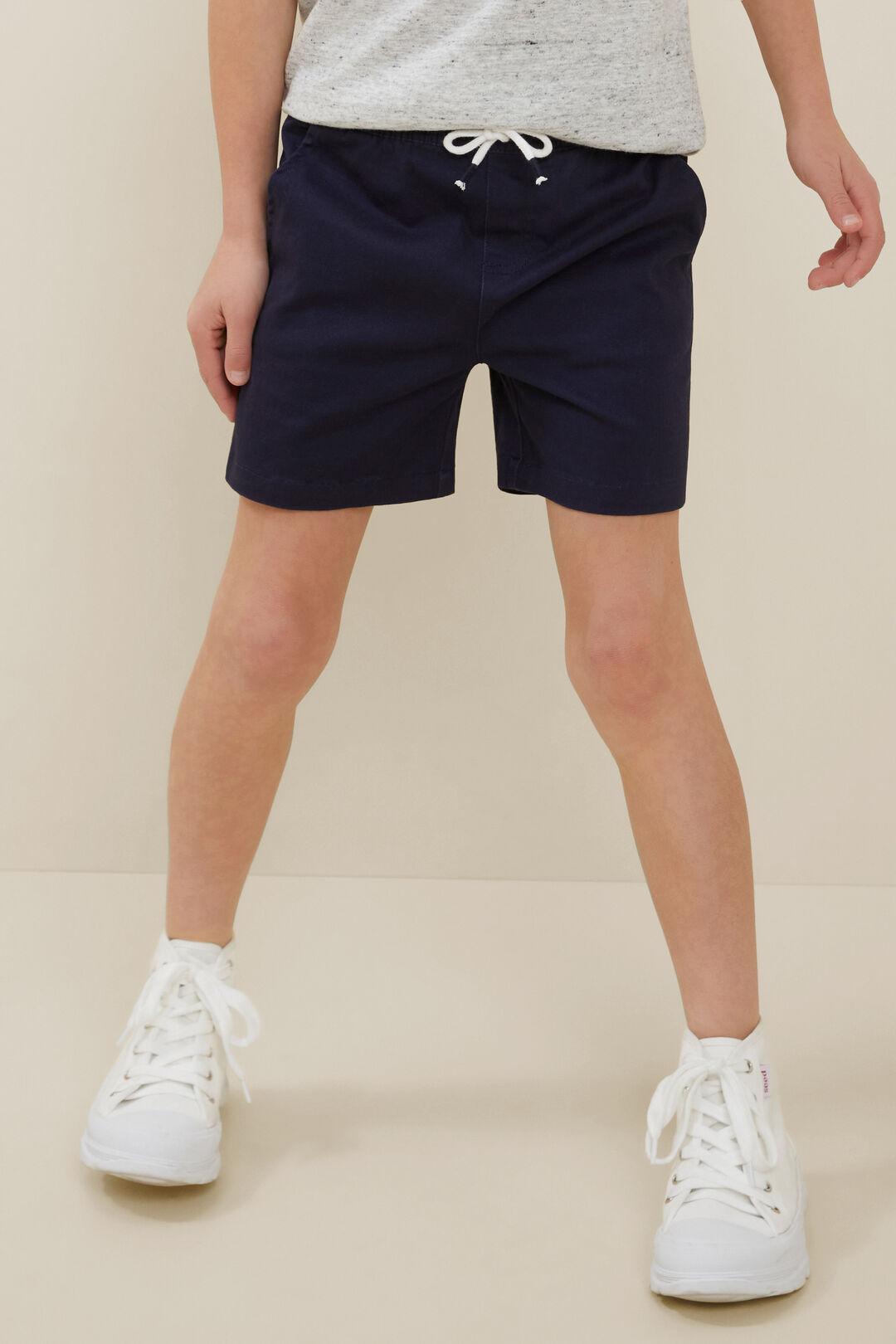 Logo Shorts  Midnight Blue  hi-res
