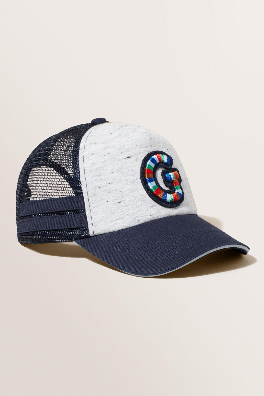 Embroidered Initial Cap  G  hi-res