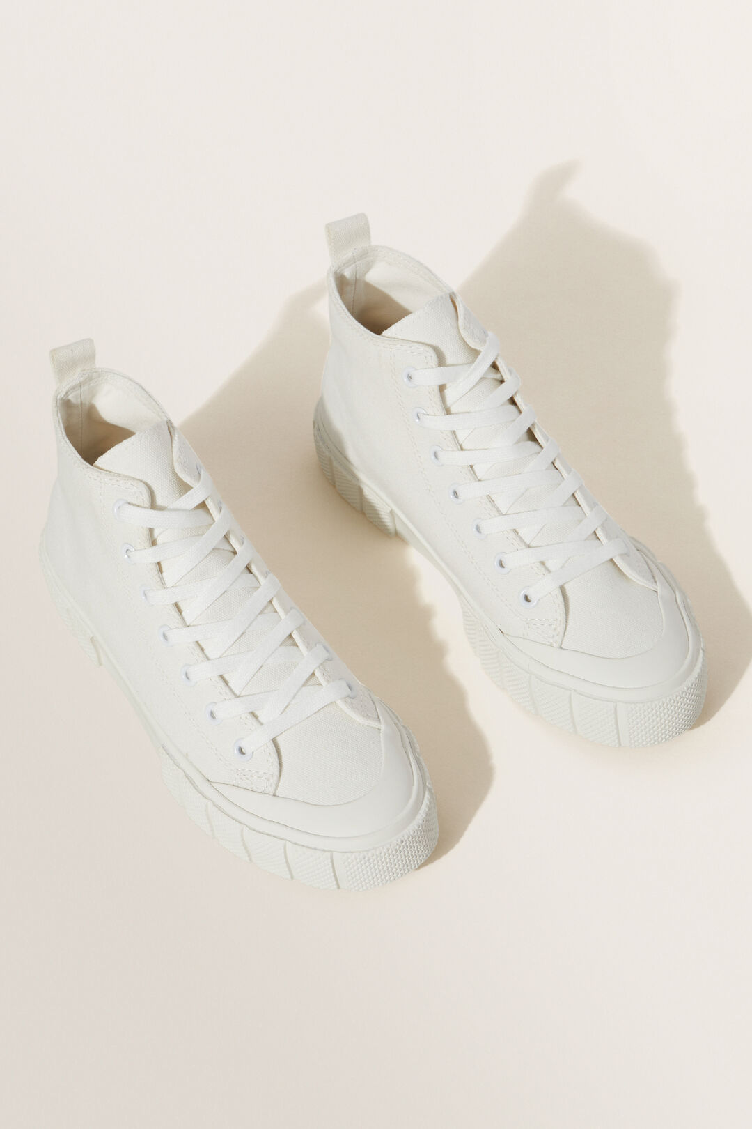 Chunky Sole High Top  White  hi-res