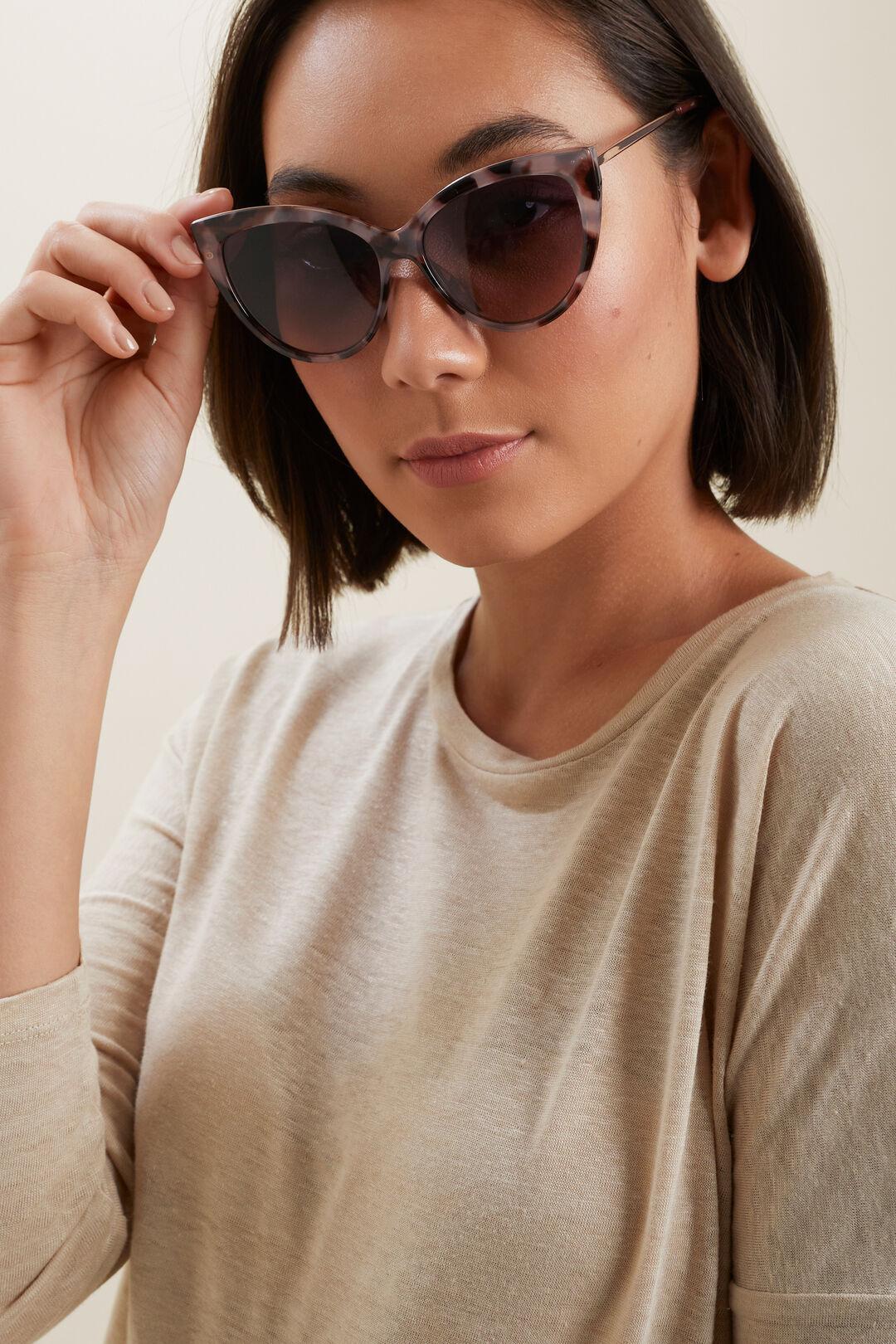 Amelia Cat Eye Sunglasses  Light Tort  hi-res