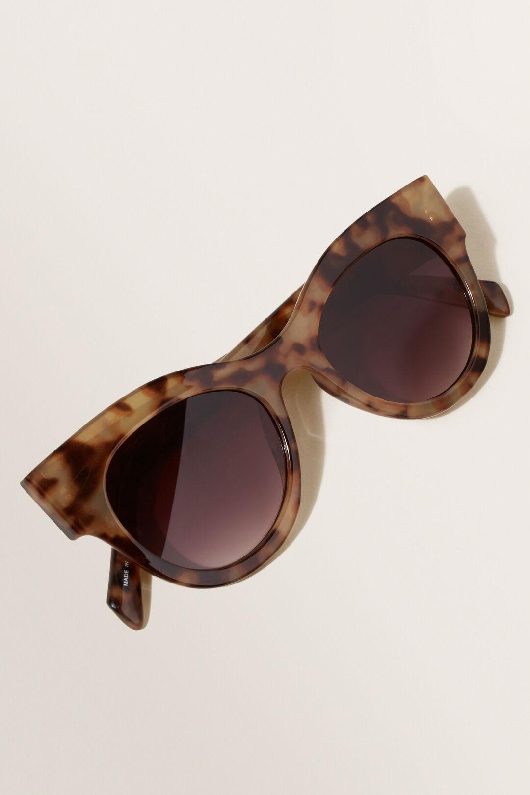 Maria Cat Eye Sunglasses  Milky Tort  hi-res