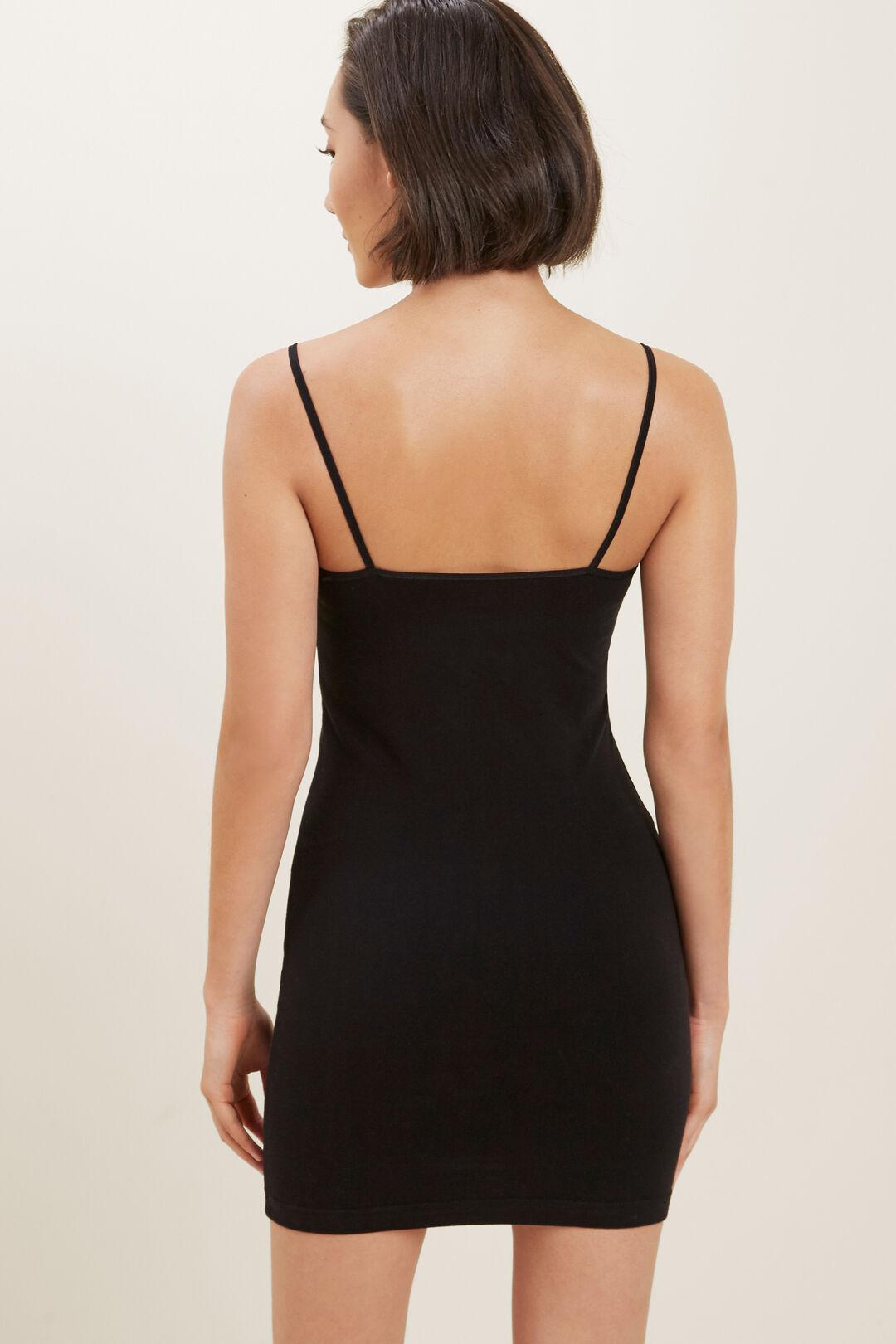 Seamless Cami Dress  Black  hi-res