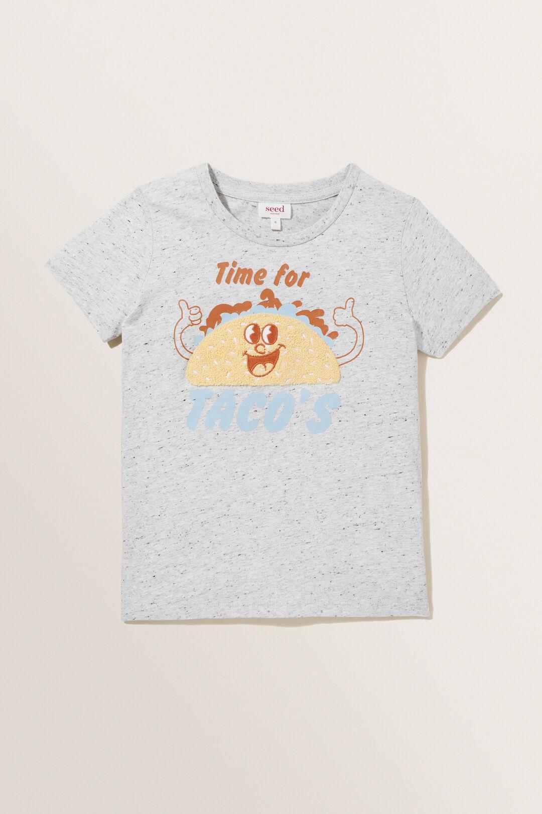 Taco Tee  Cloudy Marle  hi-res