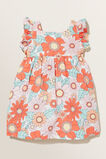 Linen Floral Dress  Clementine  hi-res