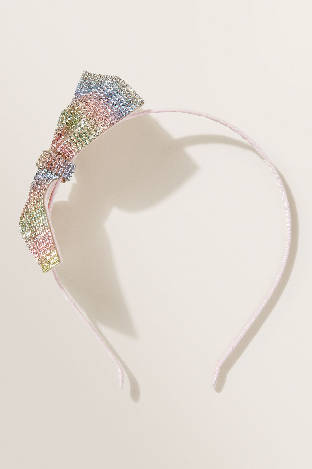 Party Gem Bow Headband  Multi  hi-res