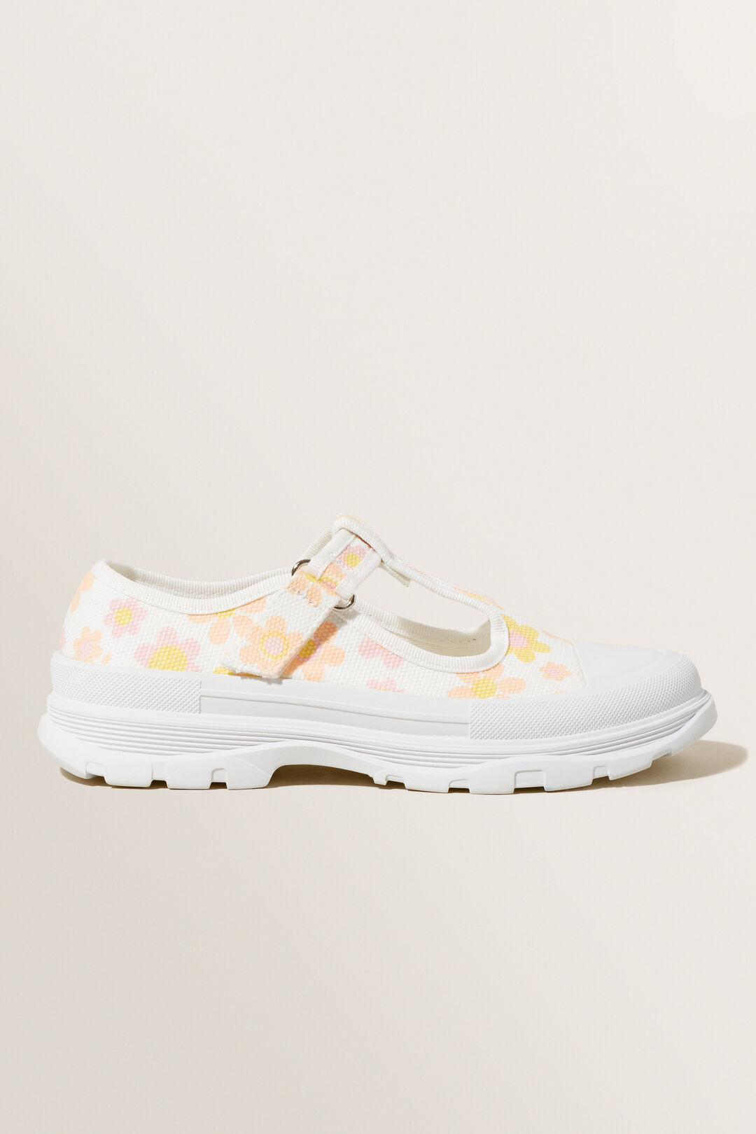 Chunky Floral Mary Janes  Multi  hi-res