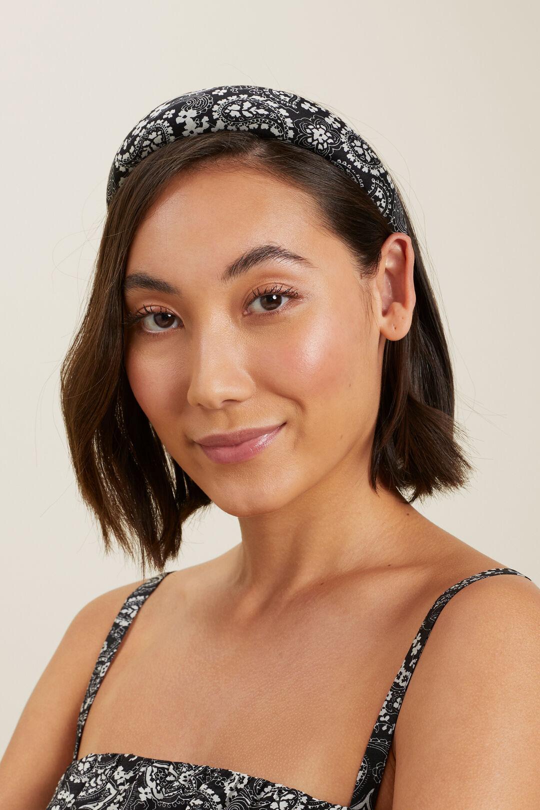 Paisley Headband  Floral Paisley  hi-res