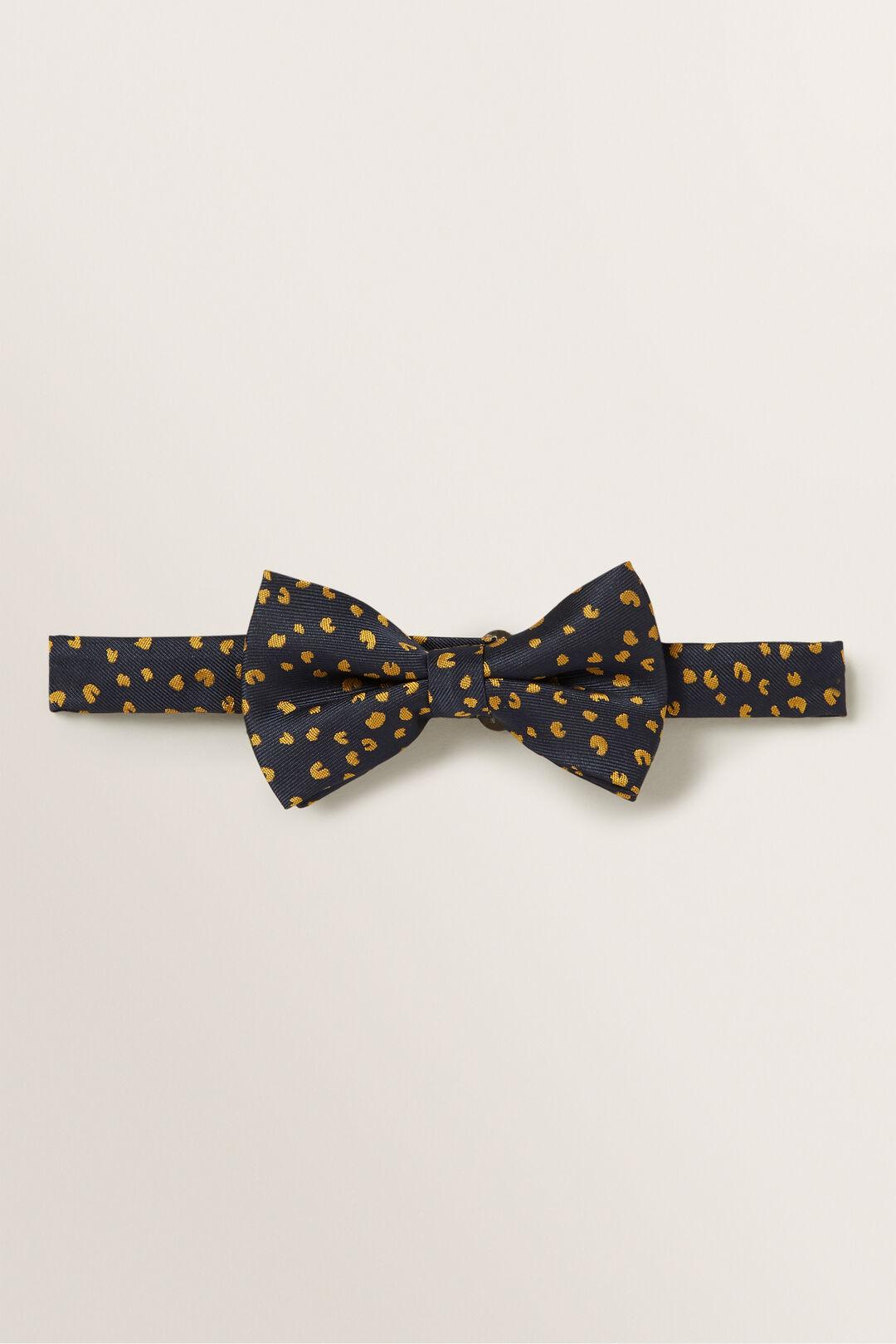 Ocelot Bow Tie  Midnight Blue  hi-res