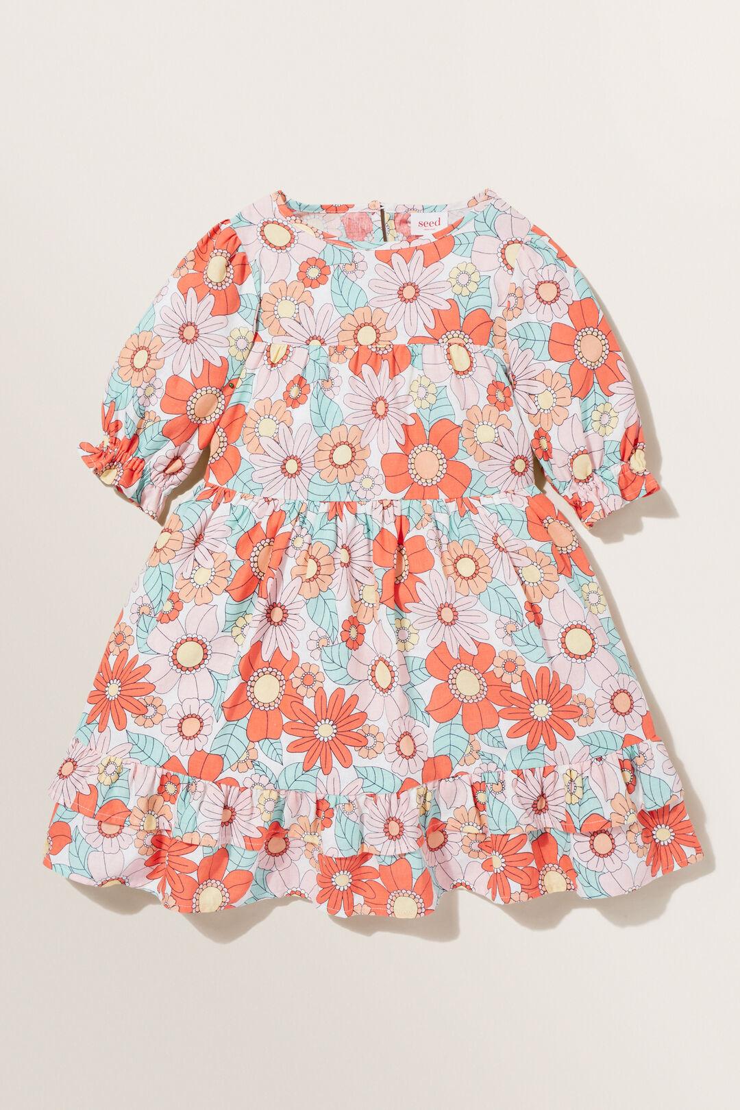 Floral Linen Dress  Clementine  hi-res