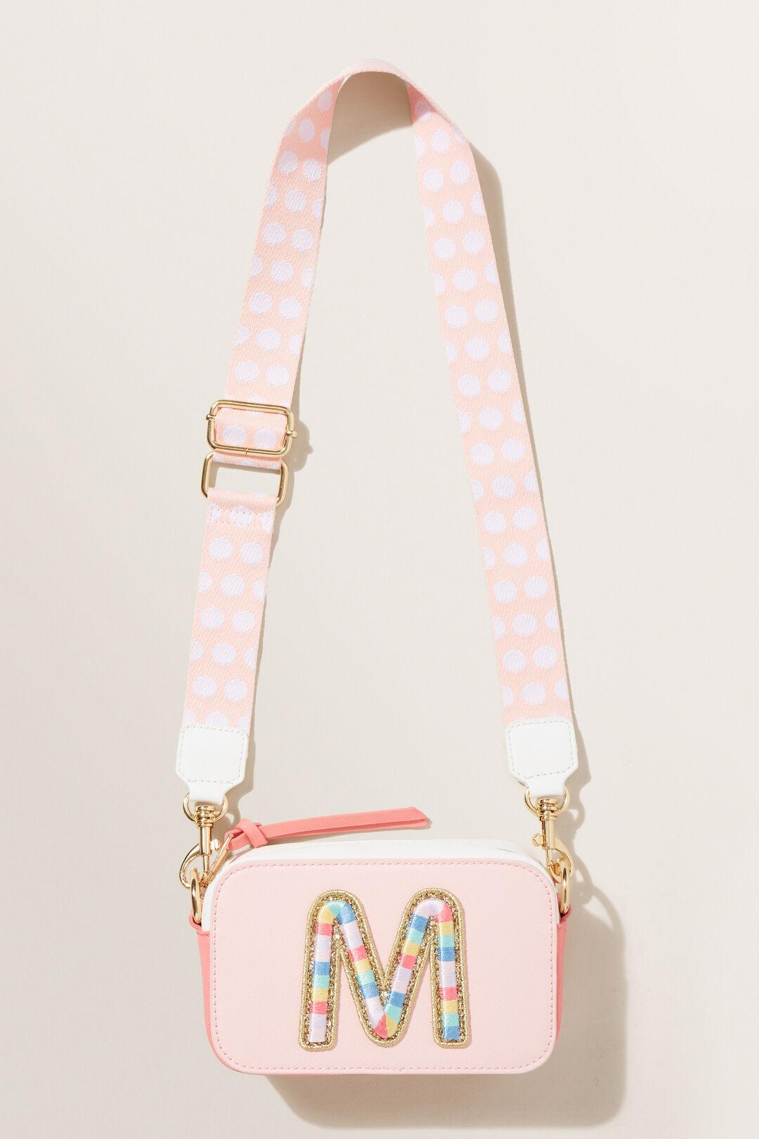Rainbow Initial Bag  M  hi-res