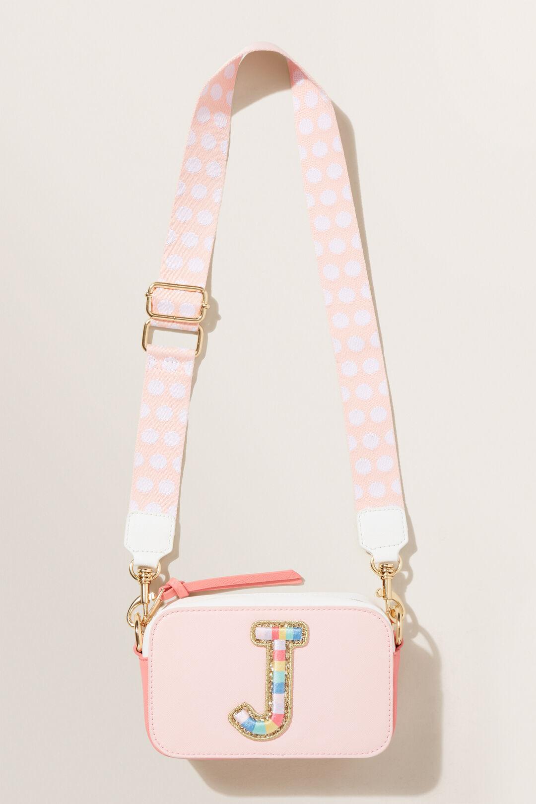 Rainbow Initial Bag  J  hi-res