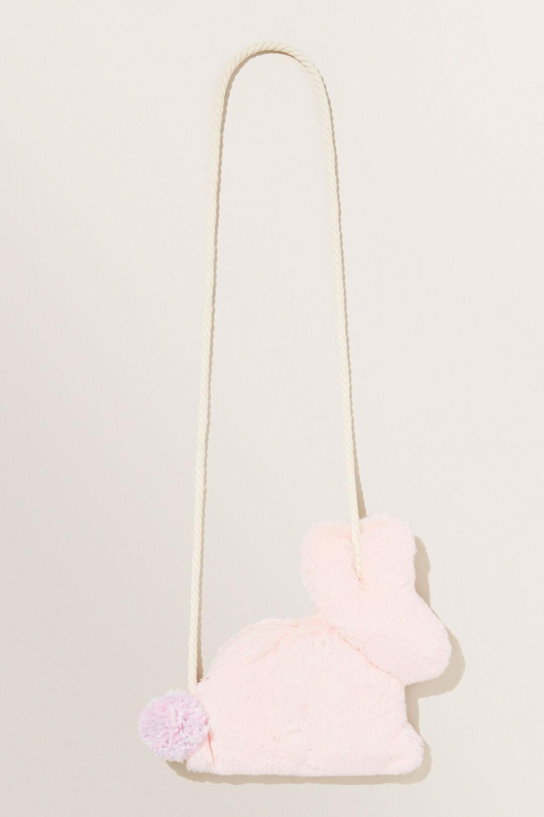Fur Bunny Bag  Dusty Rose  hi-res