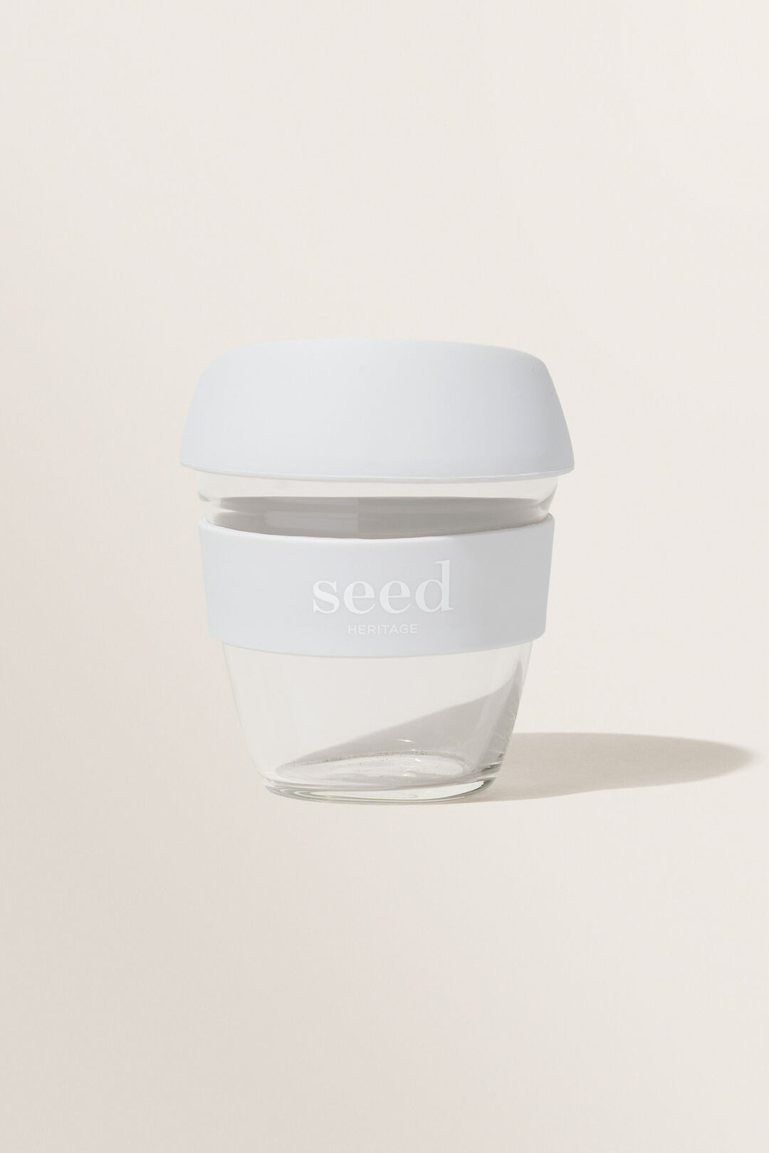 Seed Heritage Reusable Cup  Grey  hi-res