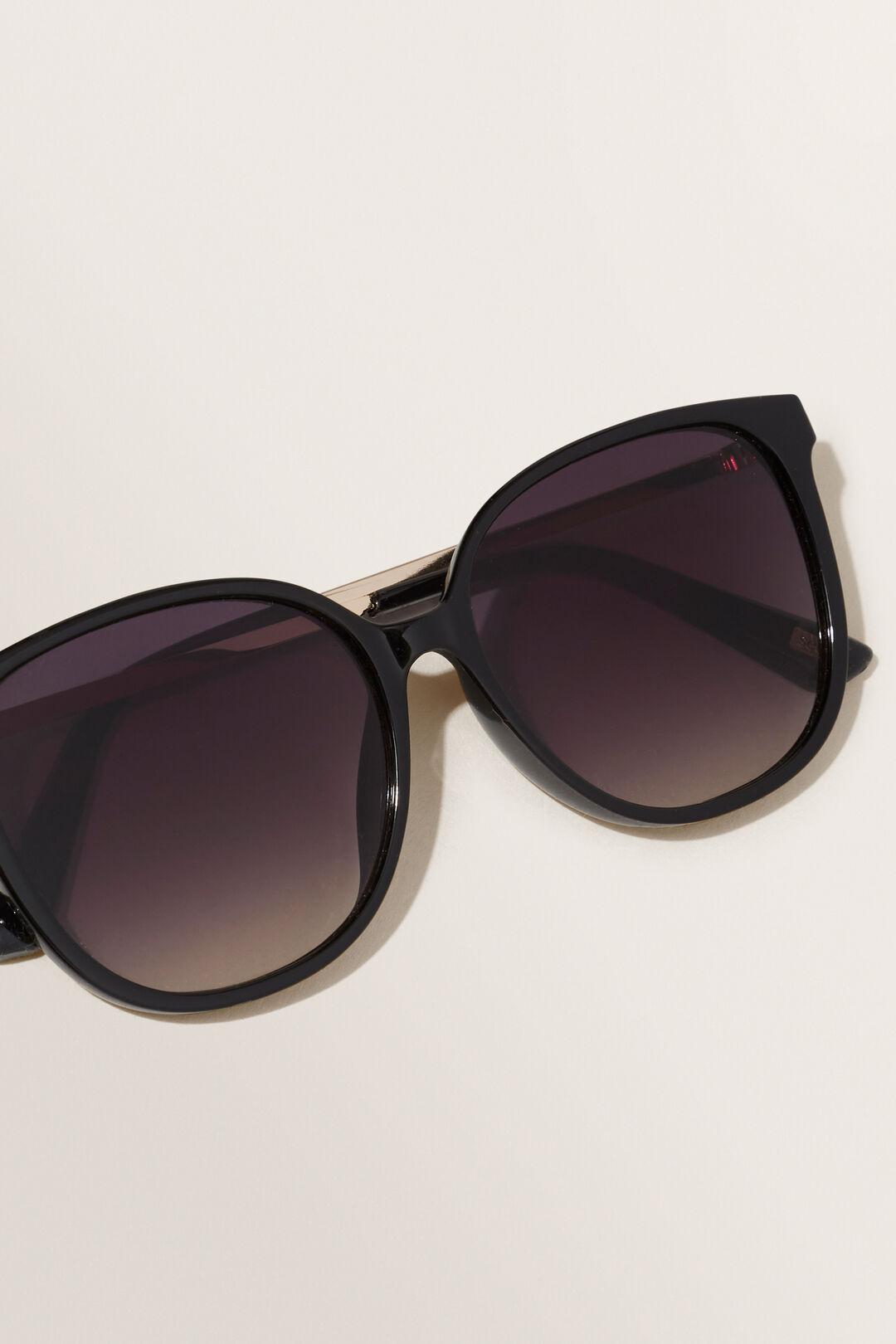 Lily Classic Square Sunglasses  Black  hi-res