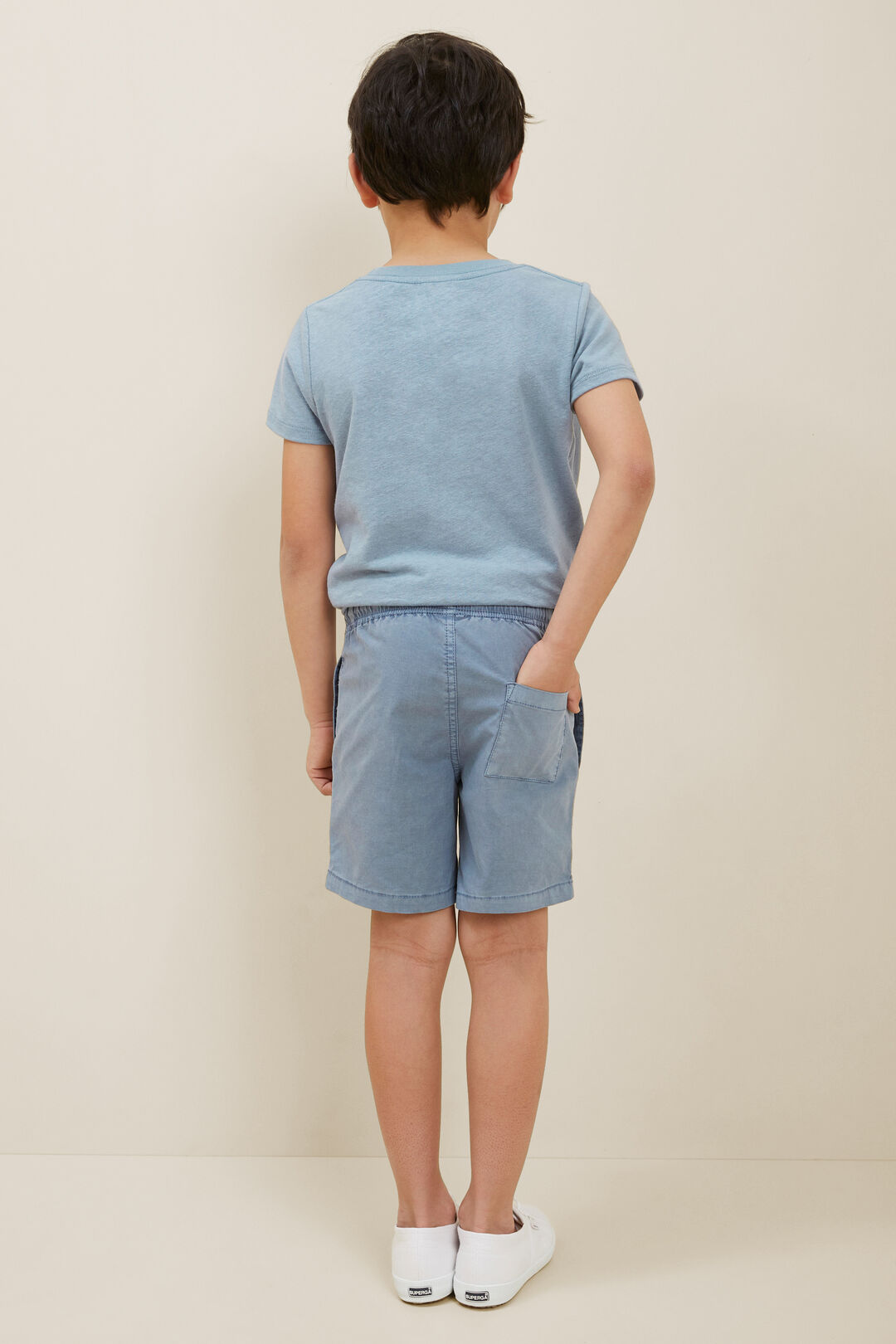 Beach Shorts  Steel Blue  hi-res