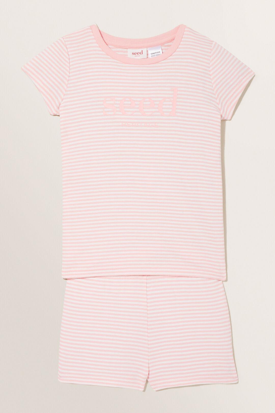 Seed Logo Pyjamas  Dusty Rose  hi-res