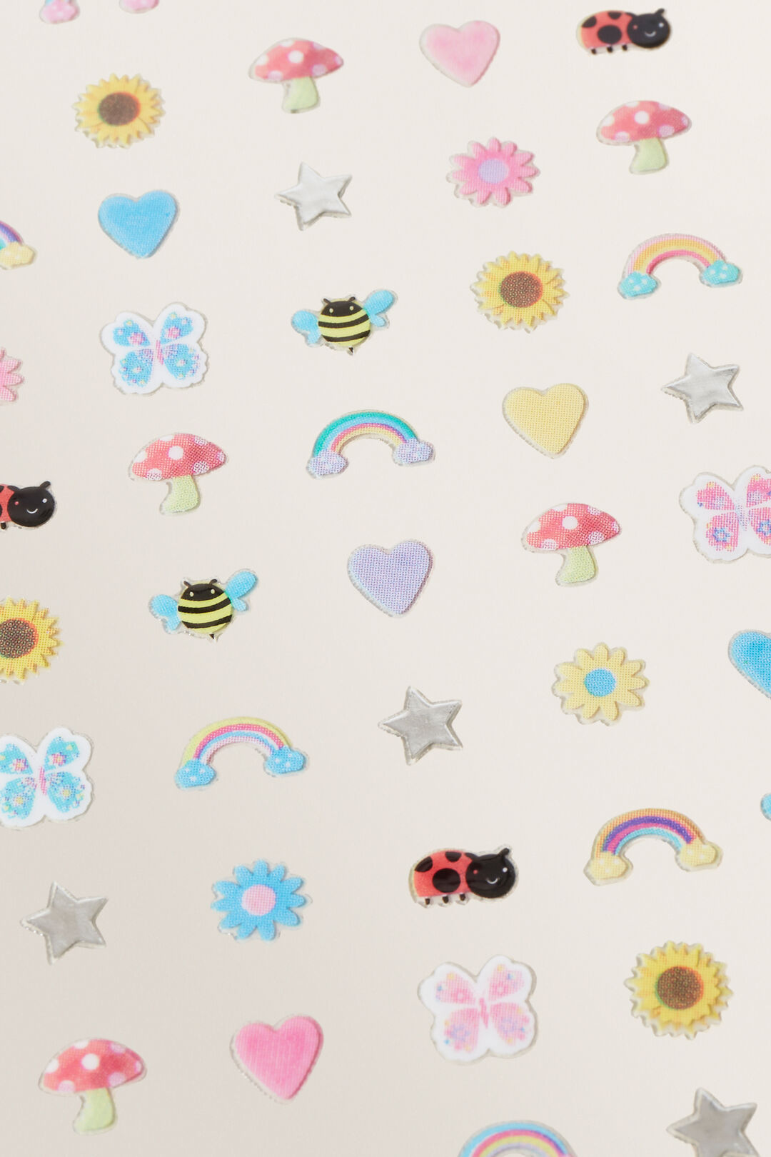 Butterfly Nail Stickers  Multi  hi-res