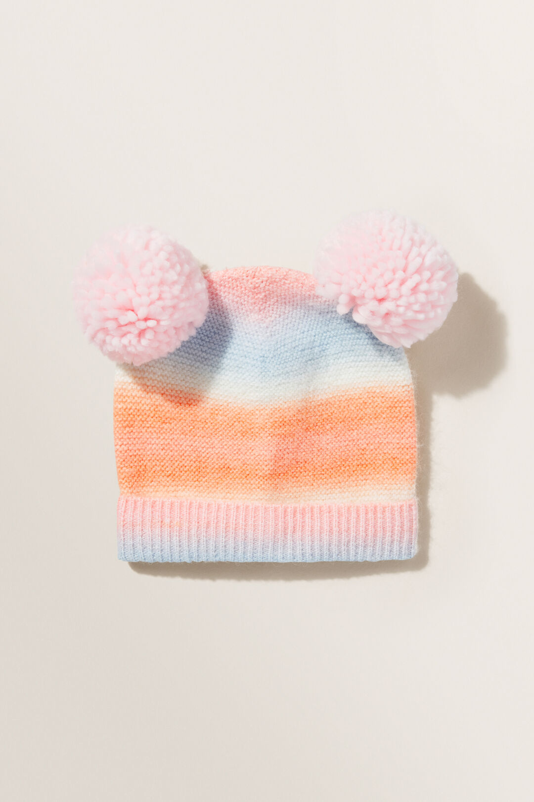Ombre Beanie  Dusty Rose  hi-res