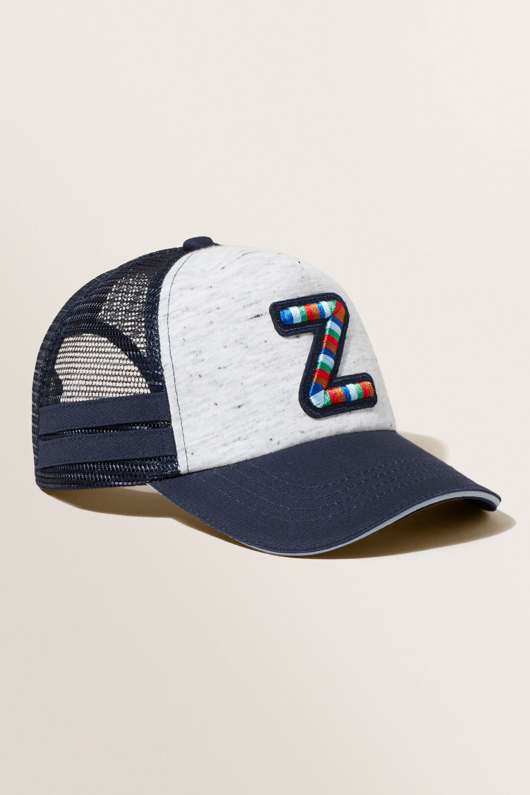 Embroidered Initial Cap  Z  hi-res