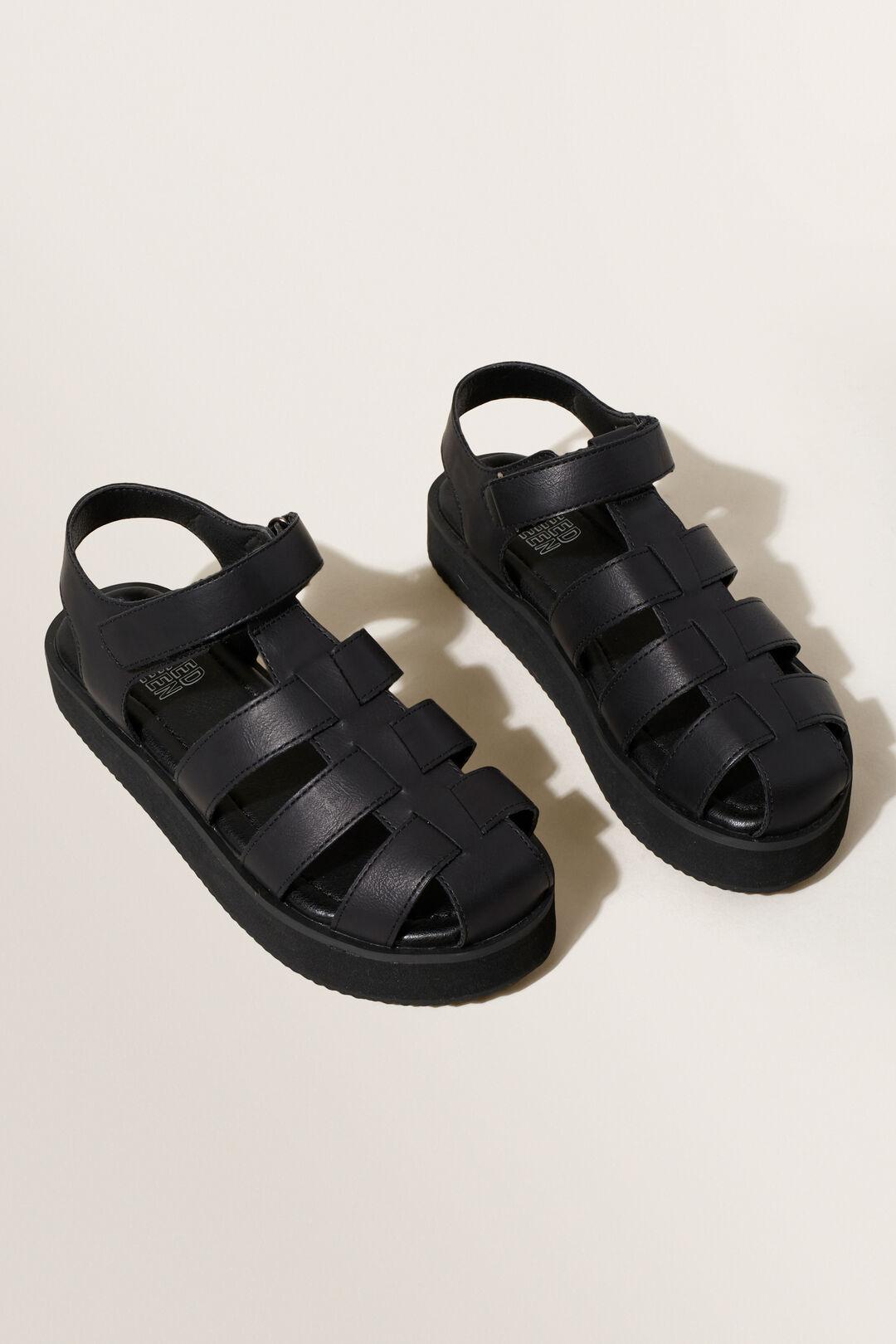 Platform Sandal  Black  hi-res
