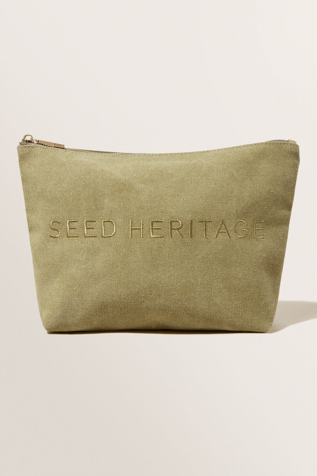 Seed Cosmetic Case  Sage Green  hi-res