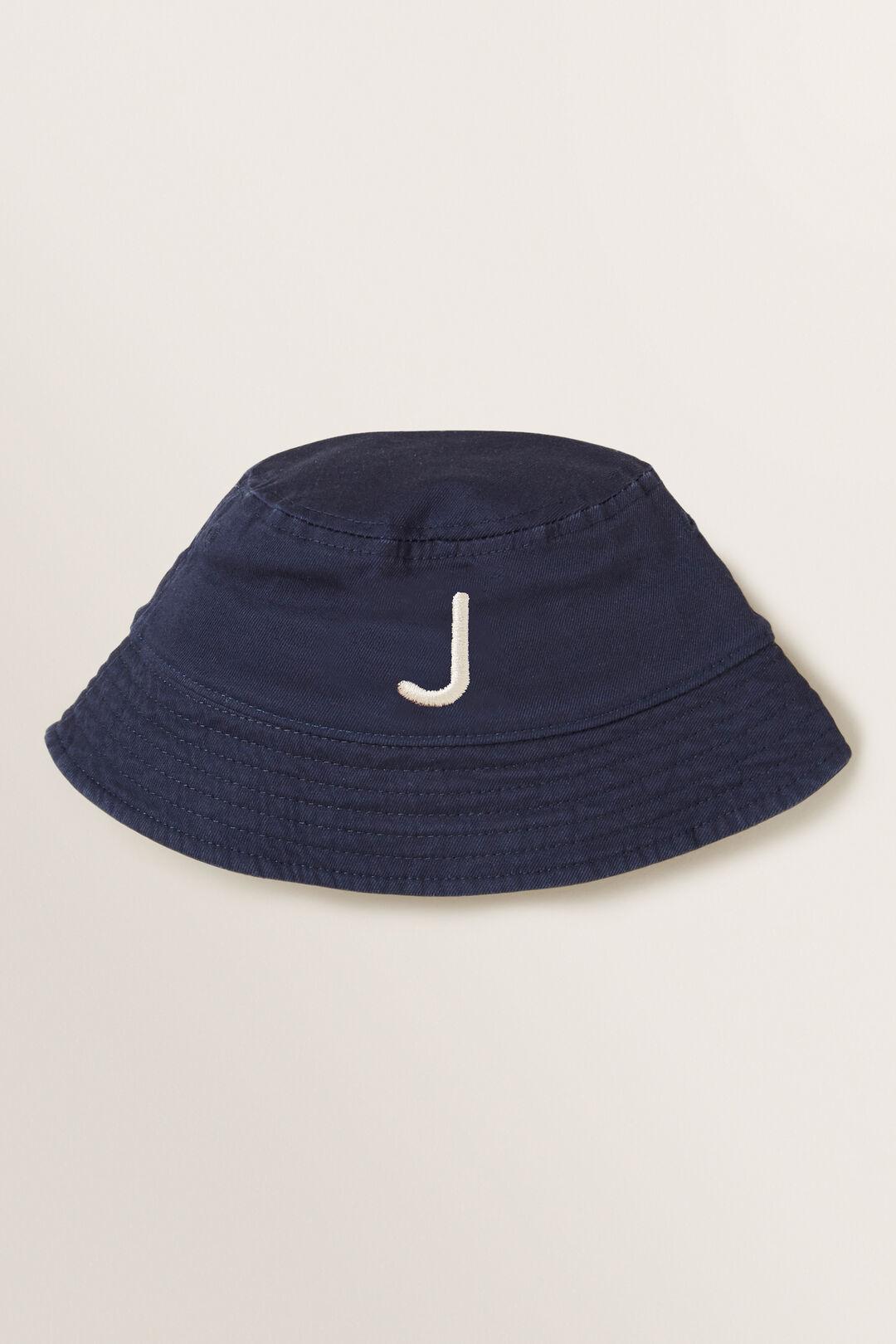Initial Bucket Hat  J  hi-res