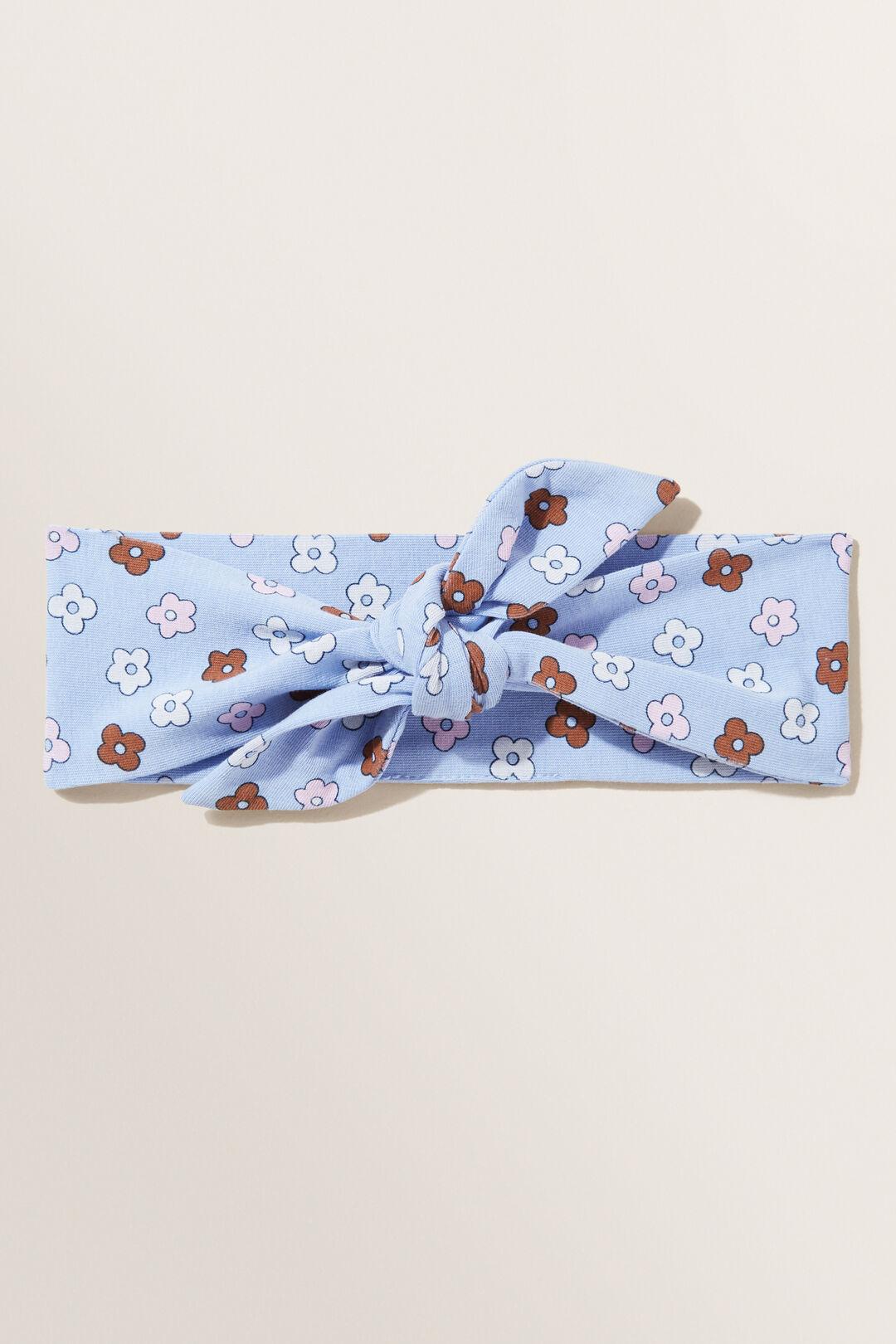 Floral Headband  Bluebell  hi-res