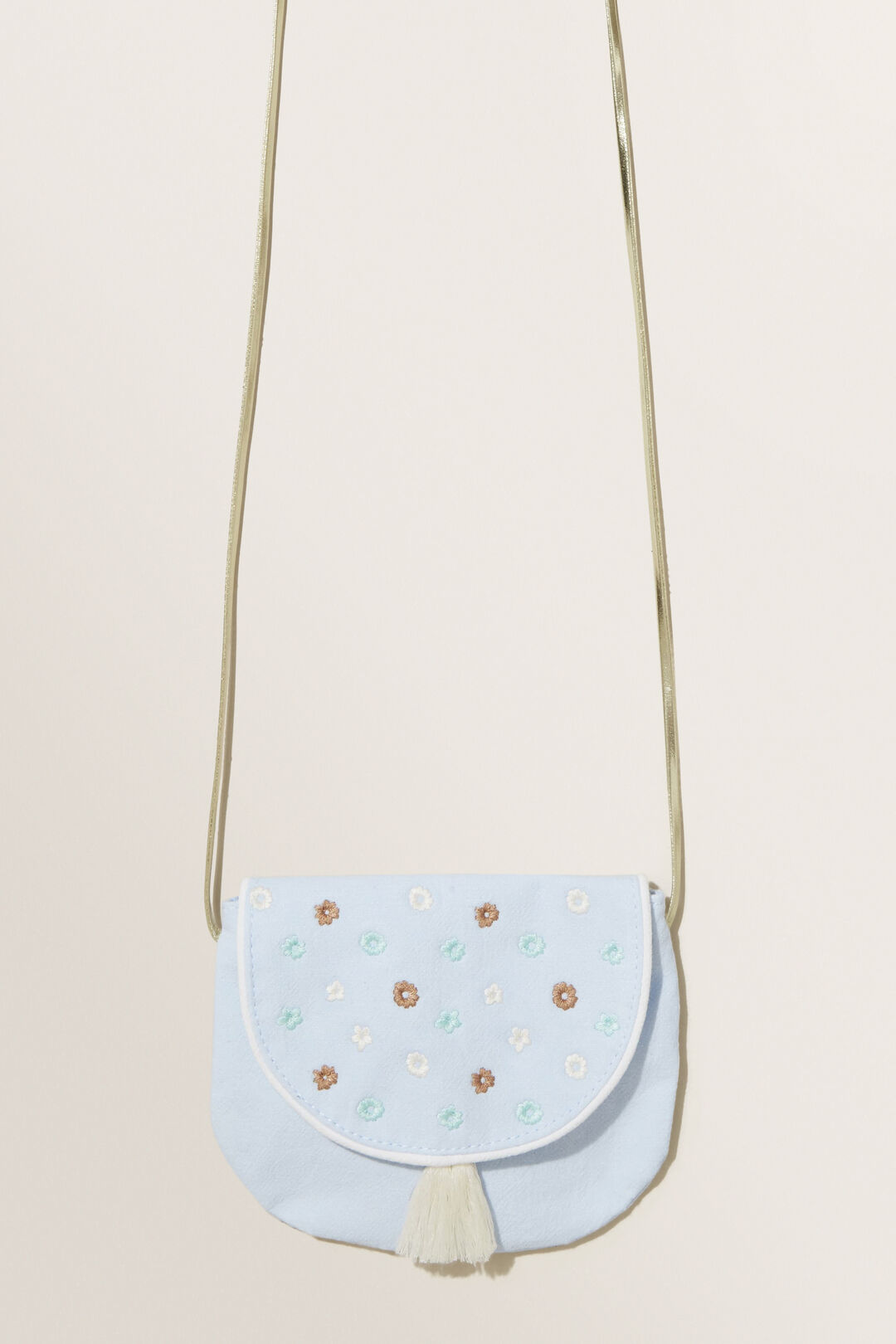 Floral Embroidered Purse  Multi  hi-res