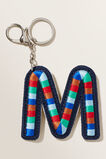 Embroidered Initial Keyring  M  hi-res