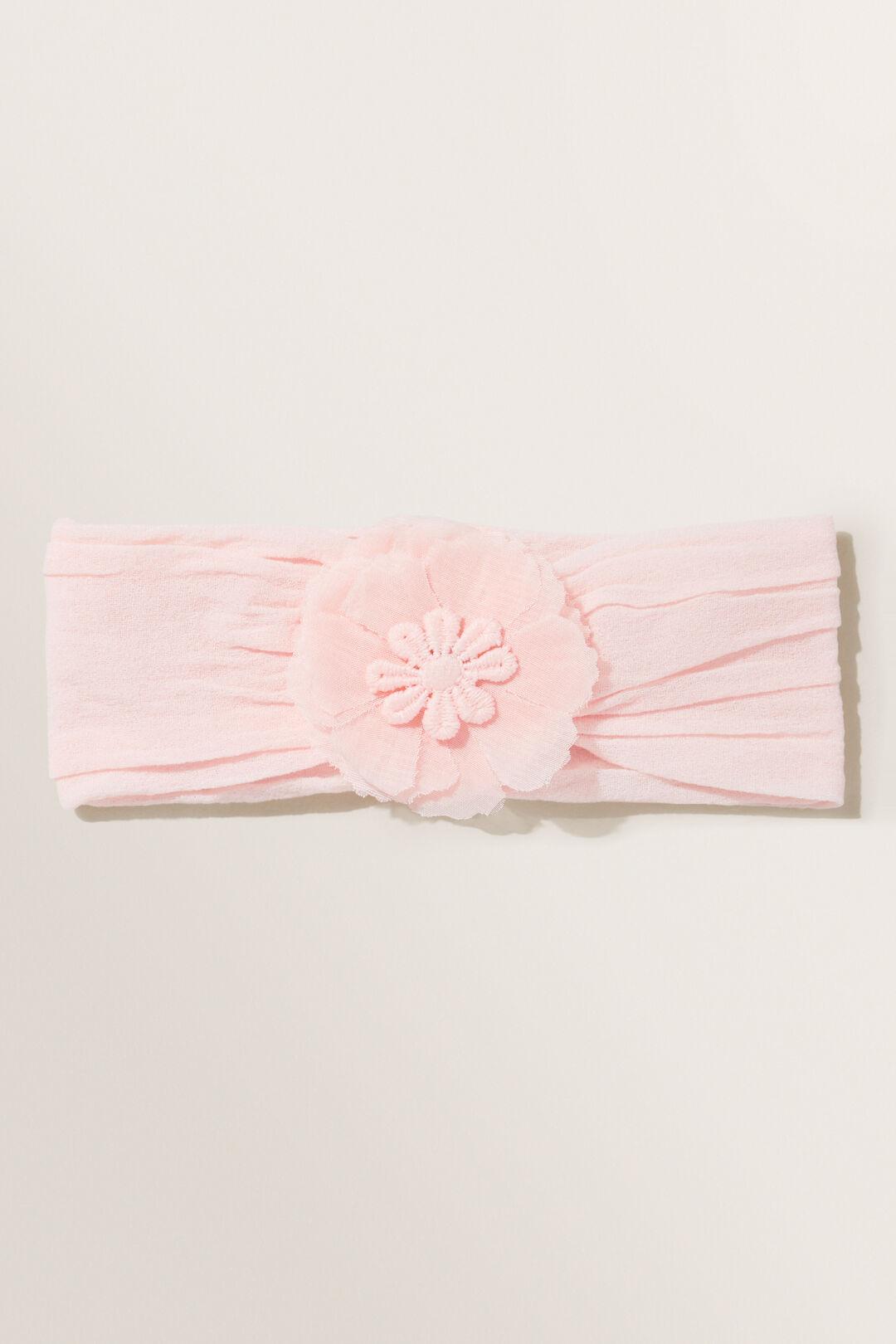 Soft Flower Headband  Dusty Rose  hi-res