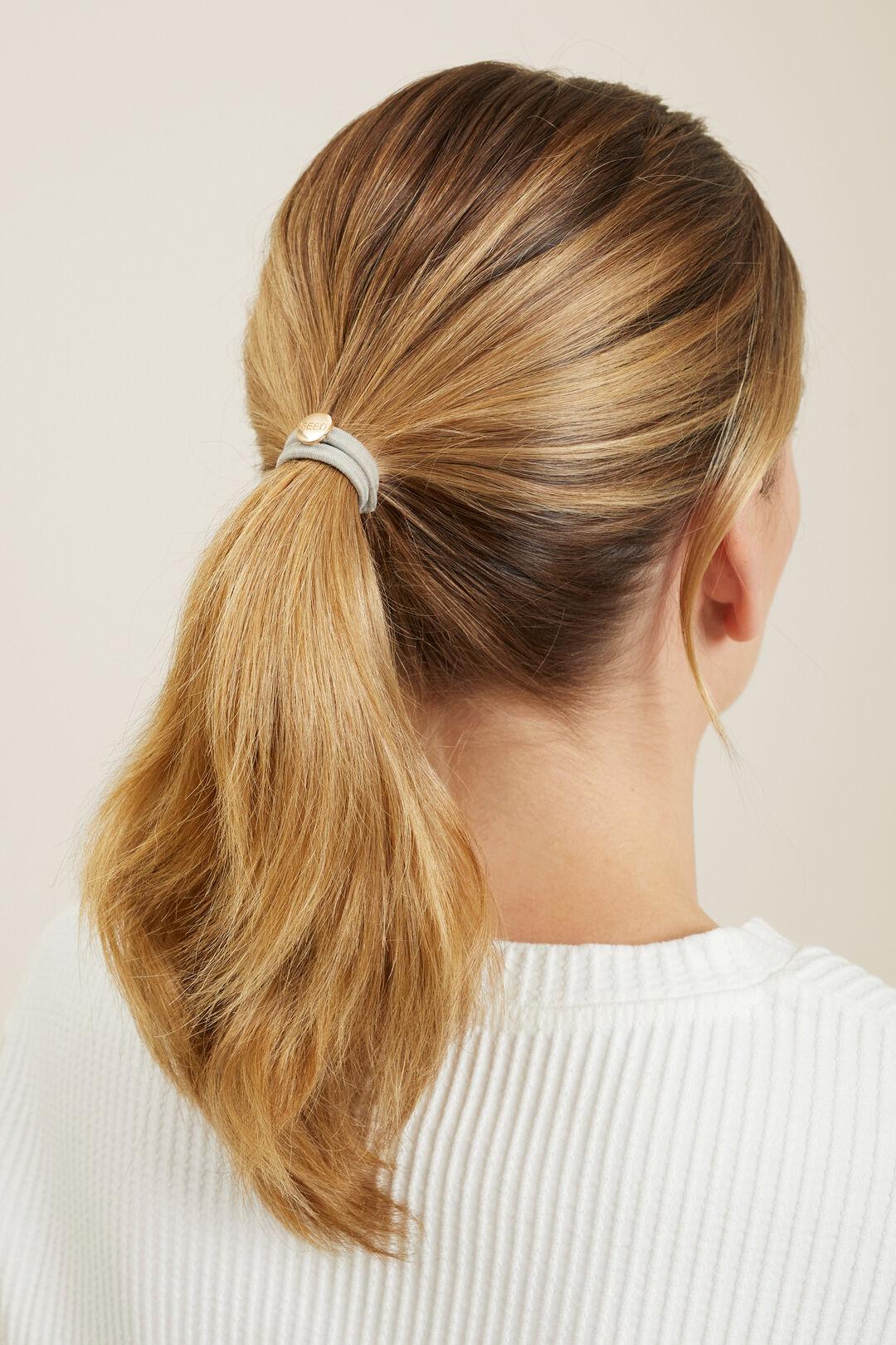 Seed Hair Ties  Grey  hi-res