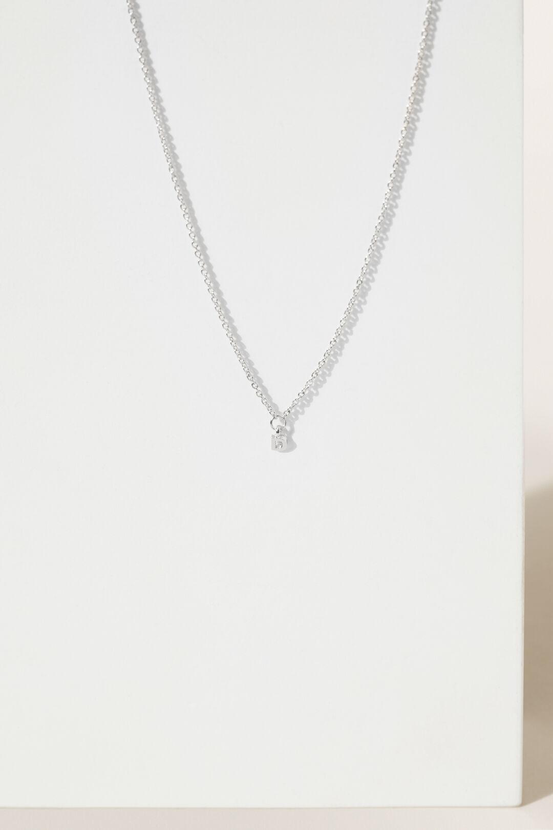 Initial Necklace  D  hi-res