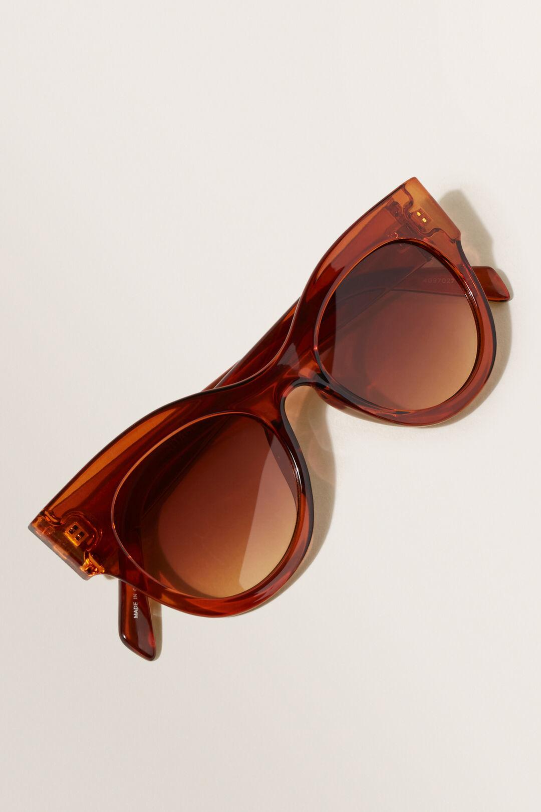 Maria Cat Eye Sunglasses  Earth Red  hi-res