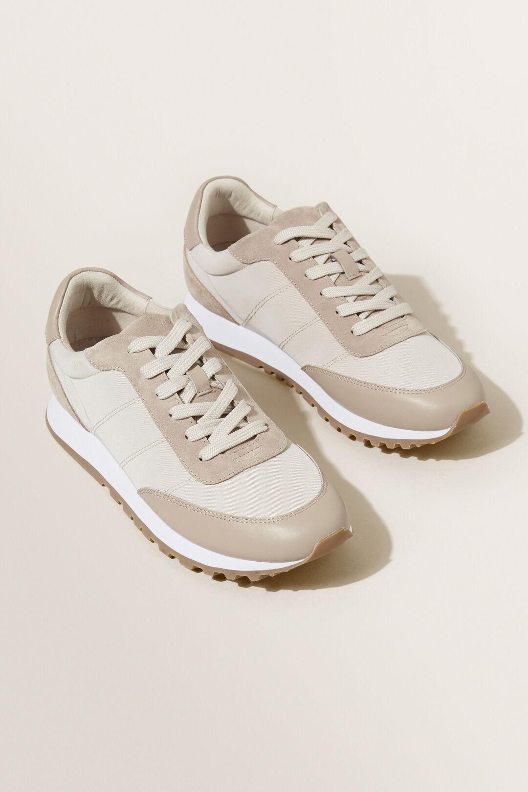 Hailey Sneaker  Pebble Cream  hi-res