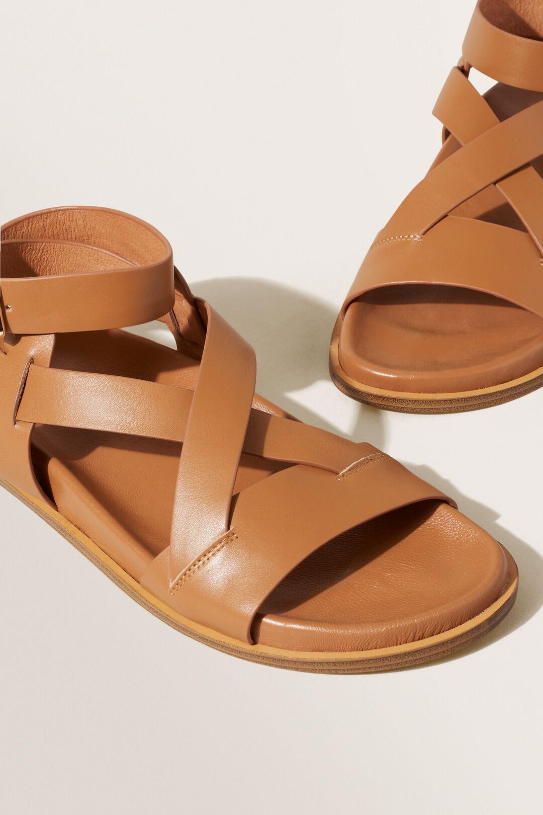 Emery Footbed Sandal  Tan  hi-res