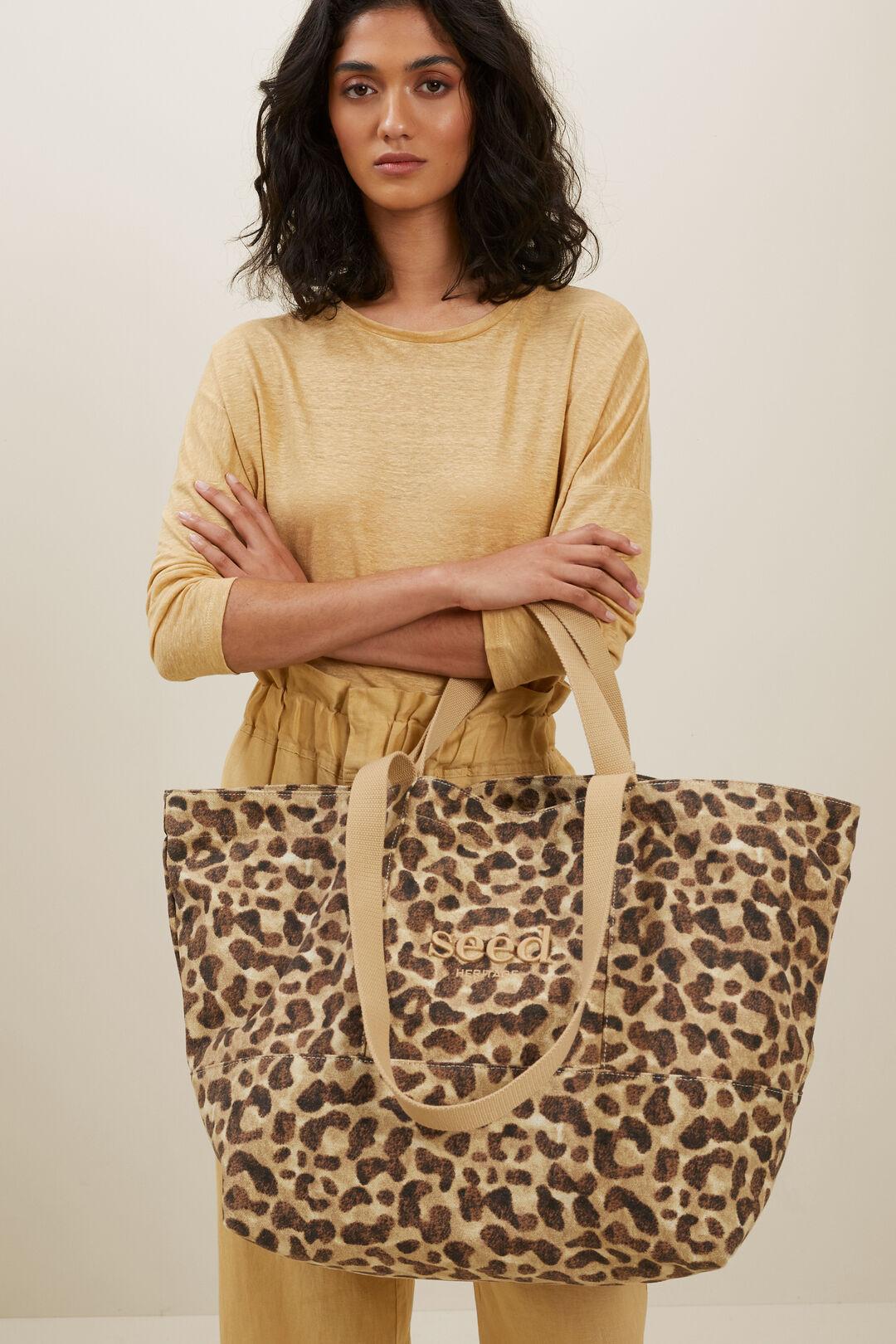 Seed Overnight Bag  Leopard  hi-res