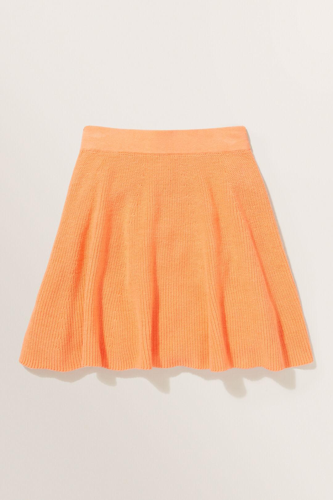 Knit Skirt  Apricot  hi-res