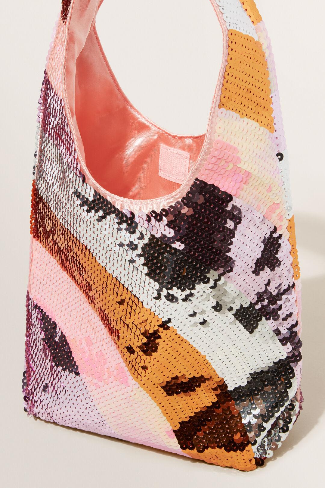 Sequin Slouch Bag  Multi  hi-res