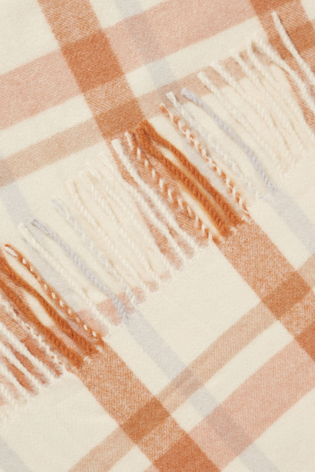 Check Scarf  French Beige  hi-res