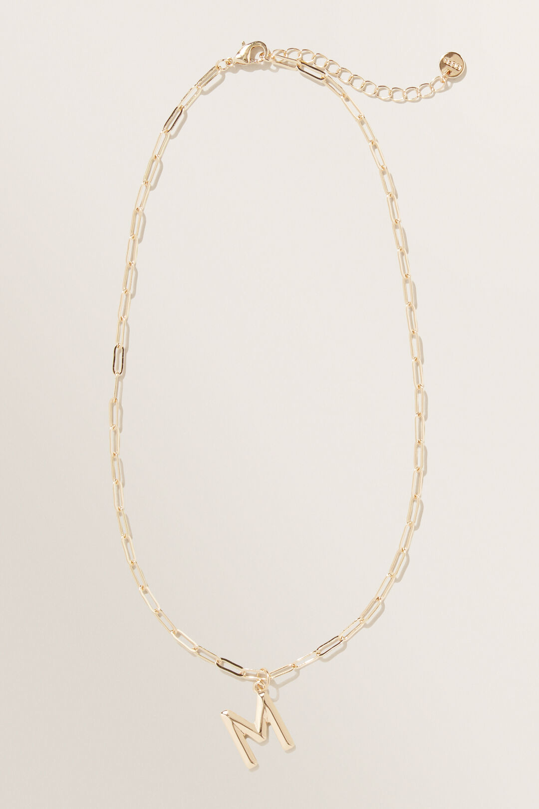 Initial Chain Necklace  M  hi-res